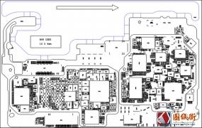 华为荣耀10 HL1COLM VER.C主板元件位号图