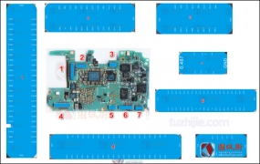 华为Nova3接口及芯片对地阻值图