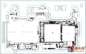华为P10Plus HL1AVICKYMP VER.A主板元件位号图