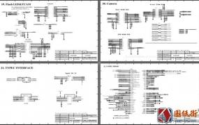 华为P30 HL2ELLEM VER.A电路原理图纸
