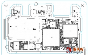 华为P9 HL1AEVAM手机维修图纸-位号图+天线版位图