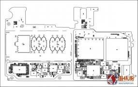 Huawei Y9 2018 HL1FLAM 主板元件位号图