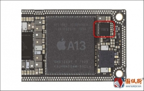 iPhone11摄像供电IC对地阻值