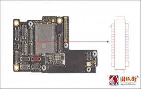 iPhone11Pro 红外镜头接口座对地阻值