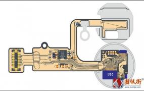iPhone8 8P指纹和触控电路原理图