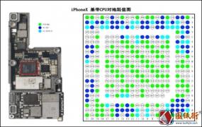 iPhoneX 基带CPU对地阻值图