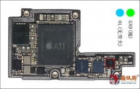 iPhoneX U3700照相供电对地阻值图