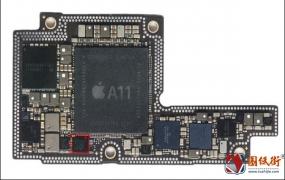 iPhoneX U6300 USB控制管对地阻值图