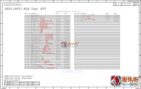 iPhonex 820-00863-09中文版 AP部分电路图