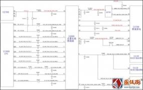 iphoneX手机维修资料J4000后置长焦照相座电路方框图