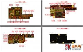 iPhone X元件分布图