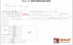 iPhone XS 高频分集接收电路方框图