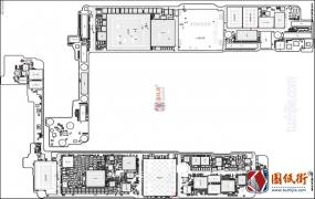 iPhone7 820-00189 Intel版主板元件位号图