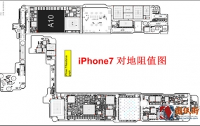 iPhone7 D10 820-00188-08对地阻值图