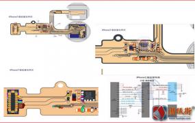 iPhone7 home键接线图+原理图