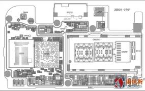 OPPO A83 2BD011 -0主板元件位号图