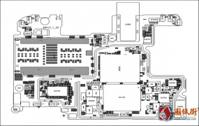 小米A3主板元件位号图