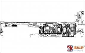小米CC9Pro主板元件位号图
