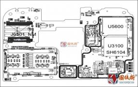 红米RedMi Note8Pro手机图纸-主板元件位号图