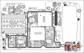 小米9pro_Mi 9pro手机图纸-位号图