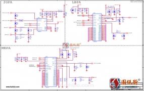 小米8屏幕指纹与探索版通用电路原理图纸