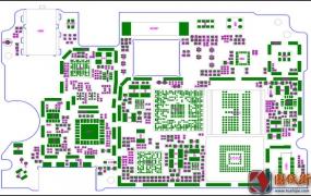 红米note电路原理图纸 元件位号图 分布图 逻辑框图