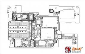 小米mix3手机维修图纸-电路原理图+位号图