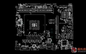 华擎B250M-HDV REV 1.03点位图