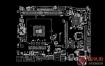 ASRock H110M-HDVP REV1.01 70-MXB2R0-A01华擎主板点位图