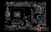 ASRock H110M-HDVP REV1.03华擎主板点位图