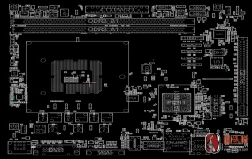 ASROCK H81M-VG4 REV 2.02华擎主板点位图
