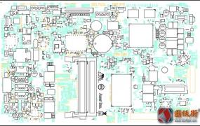 Acer AZC-610 13038 Rev 1主板元件位号图