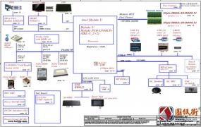 Acer K4000-55ZJ A4WAS LA-C611P REV1.0宏基笔记本图纸 主板+小板