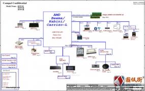 Acer ES1-520_521_522 B5W1E_1K_1R LA-D121P REV 1.0宏基笔记本图纸