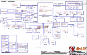 Acer TravelMate P648 LA-D301P Rev 1.0宏基笔记本电路图纸