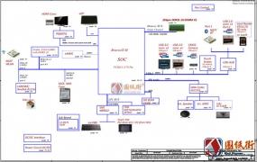 Acer ES1-532G B5V1L LA-D921P Rev:1.0宏基笔记本电路原理图纸
