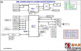Acer Aspire E5-472G Quanta Z8B DA0Z8BMB6C0 Rev 3A宏基笔记本图纸