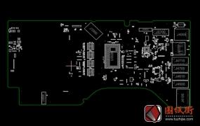 APPLE IMAC A1418 J117 MLB 820-00034 051-00081苹果主板点位图