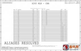 APPLE A1534 820-00244-A X260 CBB MLB 051-00532苹果笔记本电路图