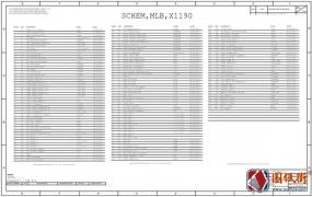 Apple A1990 820-01041 051-02643 X1190苹果笔记本电路图