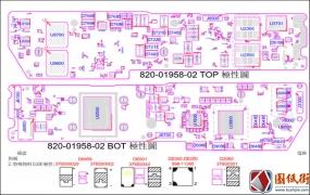Apple A2179 X1783 051-05232 820-01958 Rev2.0.0苹果笔记本点位图PDF