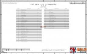 Apple A1465 J11 820-3208 051-9276苹果笔记本图纸