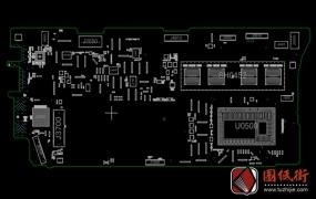 Apple A1502 820-4924-A 051-1573 X304 MLB苹果笔记本点位图