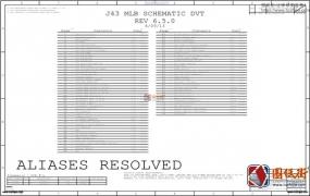 Apple A1466 J43 MLB 820-3437-B 051-9800 REV 6.5.0苹果笔记本电路图