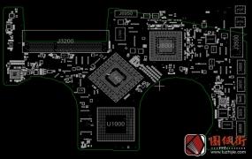 Apple A1386 820-2523, 820-2523-A, 820-2523-B苹果笔记本点位图