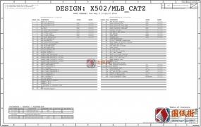 Apple A1708 X502MLB 820-00875苹果笔记本电路图