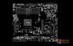 Asus B150M-C D3 Rev1.03华硕主板点位图
