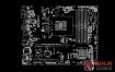 Asus PRIME B250M-C Rev 1.01A华硕主板点位图