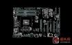华硕 ASUS P8B75-V 1.00 2.00 2.01 2.04系列主板点位图
