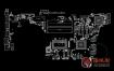 ASUS FX504GE Quanta BKL DABKLMB1AA0 DABKLGMB8D0 Rev 1.0华硕笔记本点位图
